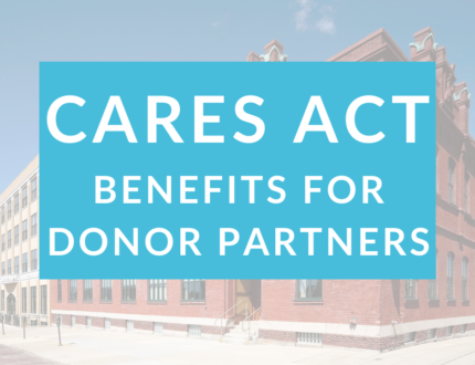 CARES Act Benefits for Donor Partners