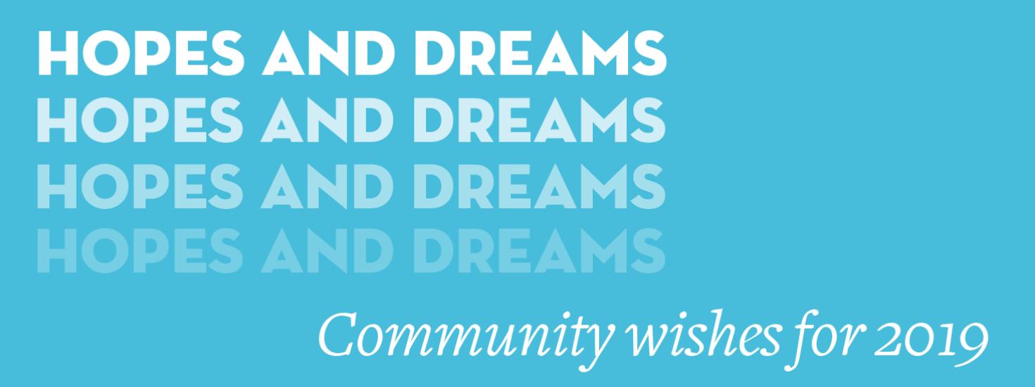 Hopes And Dreams Blog Banner